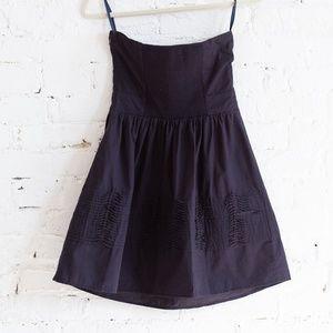 Kimchi Blue Dresses - Strapless navy Kimchi Blue dress